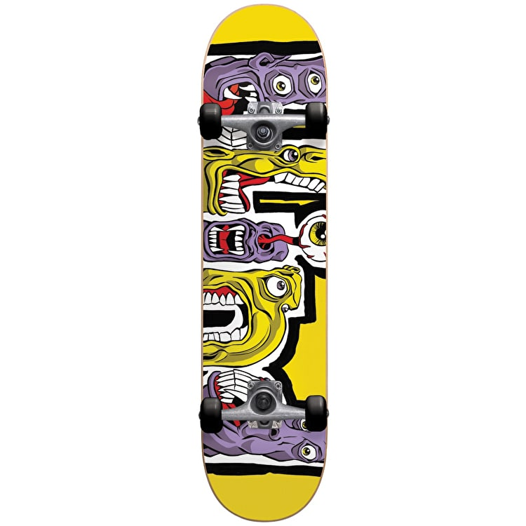 Blind Hungry Complete Skateboard - Yellow 7.75""