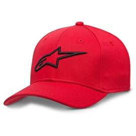 Alpinestars Ageless Curve Cap - Red/Black