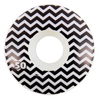 Habitat x Twin Peaks Chocolate Raised Wheels - 50mm