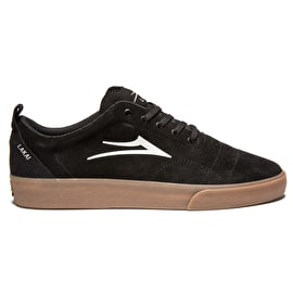 Lakai Bristol Skate Shoes - Black/Gum Suede