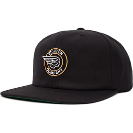 Brixton Mercury Cap - Black/Gold