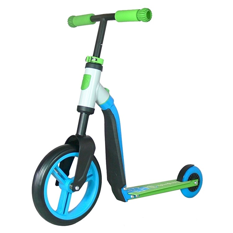 Scoot And Ride Highwaybuddy 2in1 Junior Complete Scooter - Blue/Green