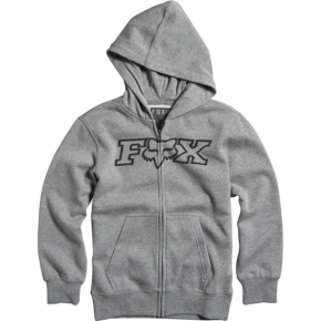 Fox Legacy Zip Fleece Heather Graphite