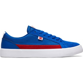 DC Lynnfield Skate Shoes - Blue/Red