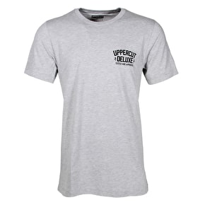 Uppercut Deluxe Don't Trim On Me T-Shirt - Grey/Black Print