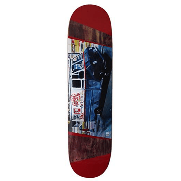 A Third Foot Mean Streets Skateboard Deck - Ice Truck 8.25""