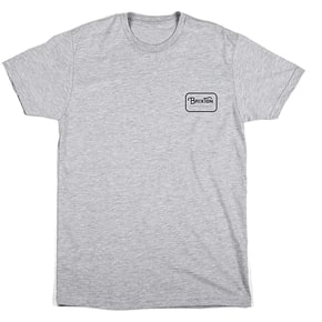 Brixton Grade Short Sleeve Standard T-Shirt - Heather Grey/Black