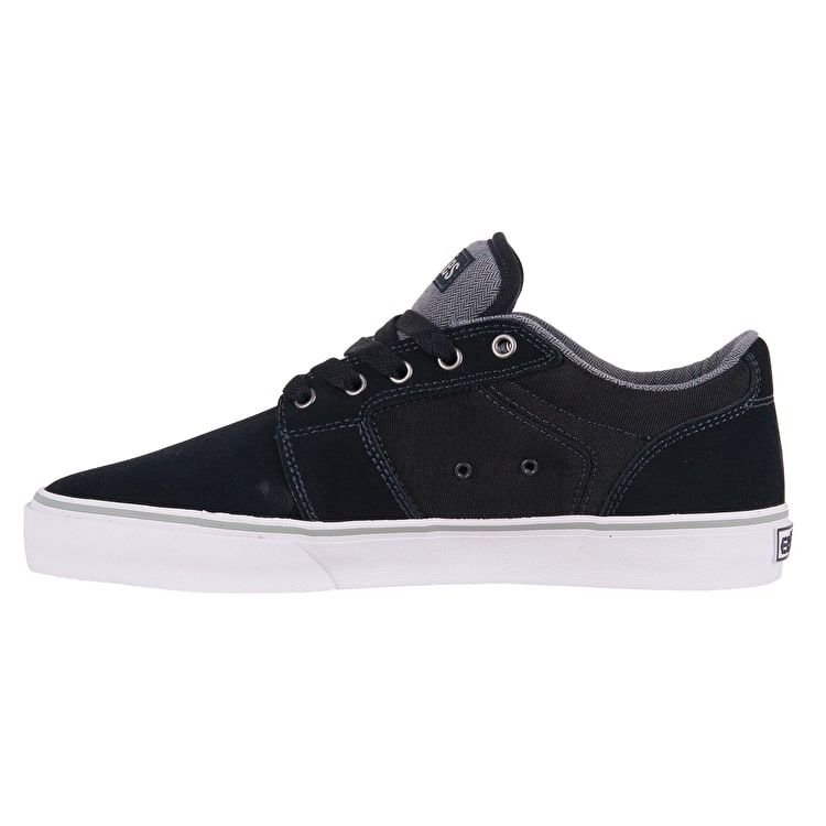Etnies Barge LS Skate Shoes - Navy/Grey/White