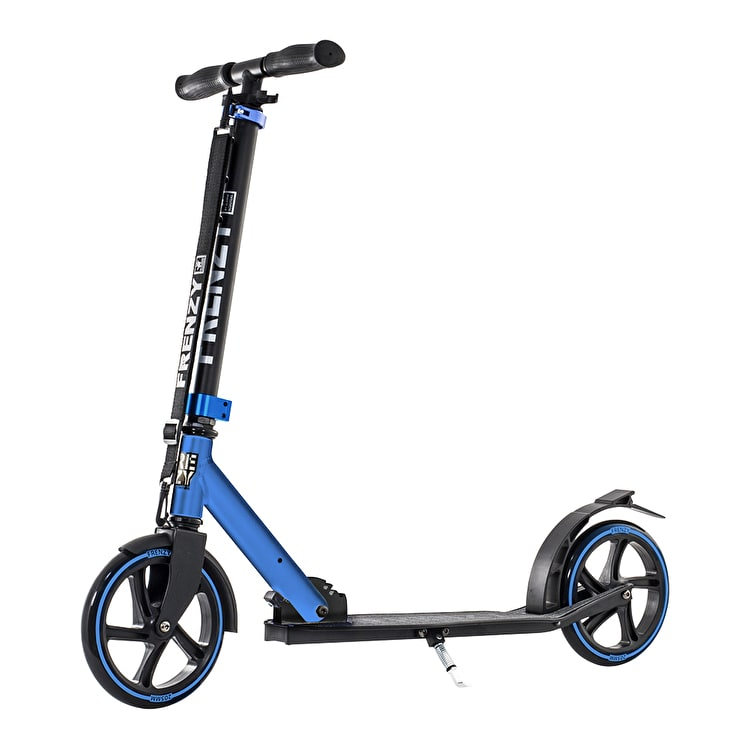 Frenzy 205mm Folding Scooter - Blue