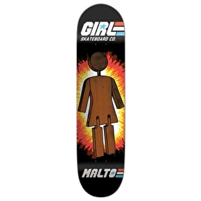 Girl GI Malto Skateboard Deck - 8.125