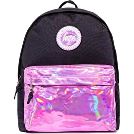 Hype Holo Pocket Backpack - Black/Pink