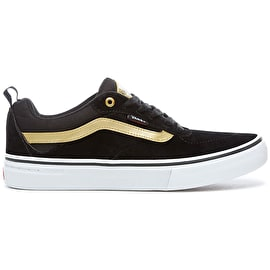 Vans Kyle Walker Pro Skate Shoes - Black/Metallic Gold