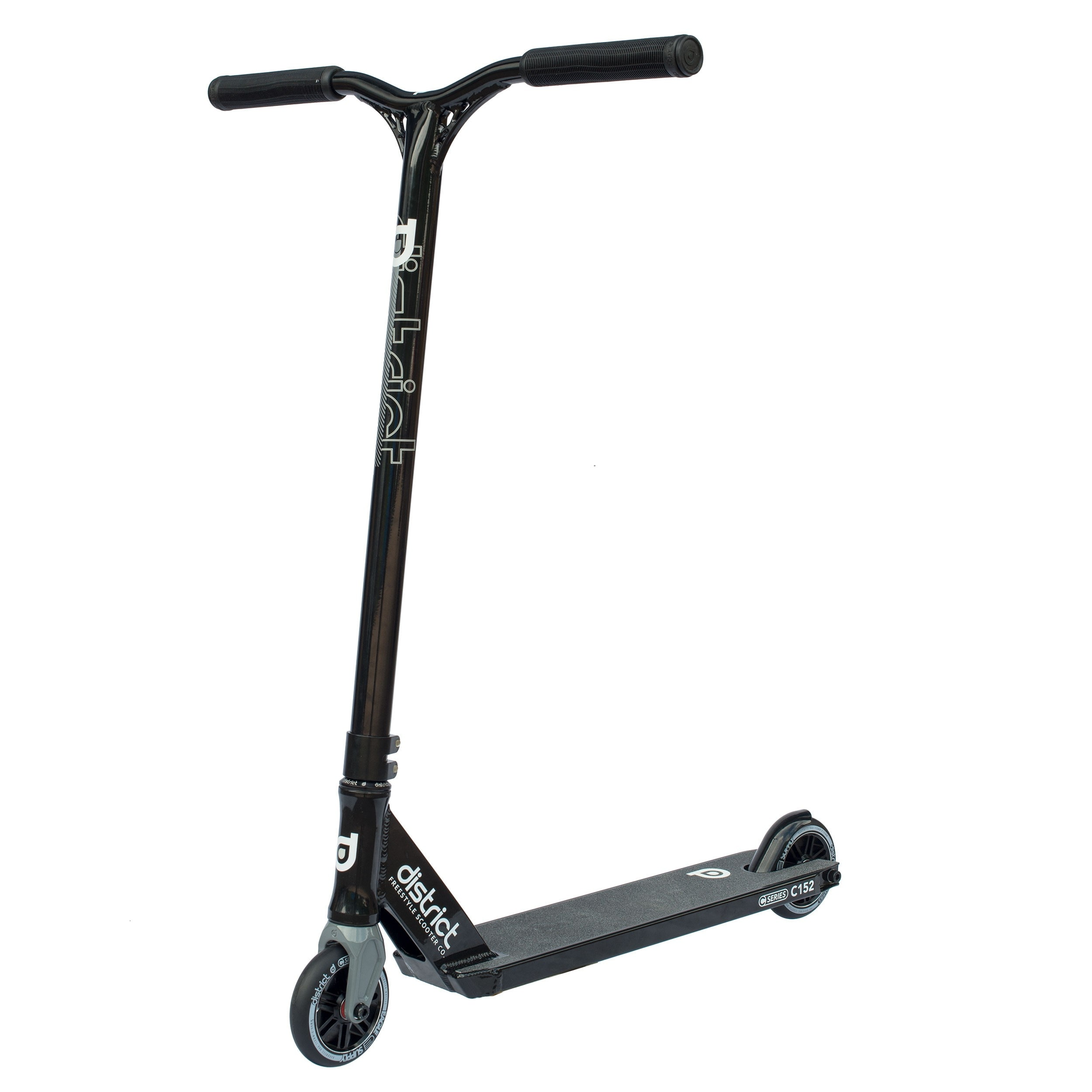 Image of District 2017 C-Series C152 Complete Scooter - Black/Black