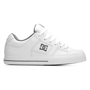 DC Pure Shoes - White/Battleship/White