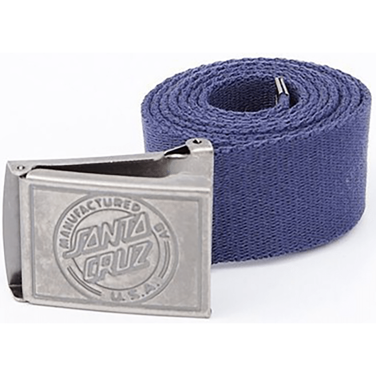 Santa Cruz MF Dot Clamp Belt Indigo