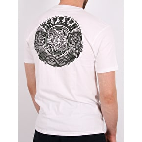 Santa Cruz Dressen Black Roses T-Shirt - White