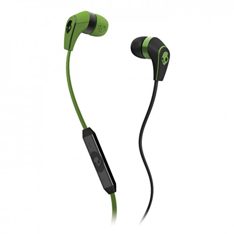 Skull Candy 50/50 Earphones - Lurker Green/Black (Mic'd)