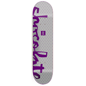 Chocolate Floater Chunk Skateboard Deck - Alvarez 8.25