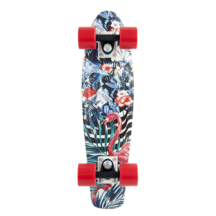 Penny Complete Skateboard - Flamingo Forest 22""