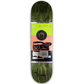 Habitat GX1000 Skateboard Deck - Green - 8.25