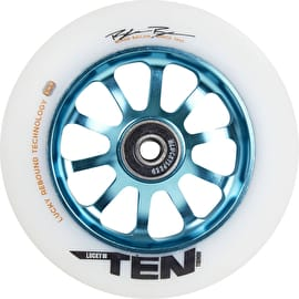 Lucky Ten 110mm Scooter Wheel - Teal