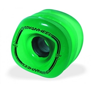 Shark Wheel Sidewinder 70mm 78a Longboard Wheels - Green 78A (Pack of 4)