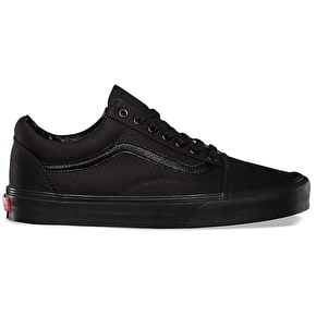 Vans Old Skool Skate Shoes - Black/Black