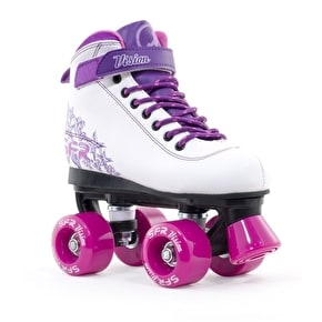 B-Stock SFR Vision II Quad Skates - Purple - Junior UK 13 (Cosmetic Damage, No Box)