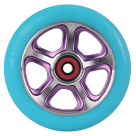 B-Stock MGP DDAM CFA Scooter Wheel - Purple / Turquoise 110mm (Cosmetic Damage)