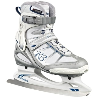 Rollerblade Spark XT Ice Figure Skates - Silver/White