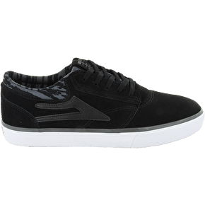 Lakai Griffin Shoes - Black/Grey Suede