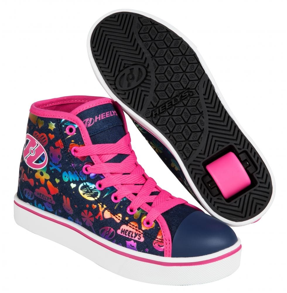 heelys veloz dark denim rainbow heelys shoes heelys trainers buy cheap heelys footwear. Black Bedroom Furniture Sets. Home Design Ideas