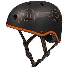 Micro Safety Helmet - Black/Orange