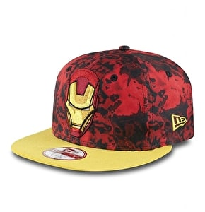New Era 9Fifty Snapback Cap - Ironman Slick