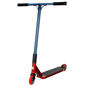 UrbanArtt Custom Scooter - Red/Trans Blue