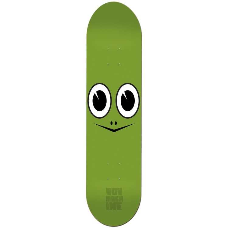 Toy Machine Turtle Face Skateboard Deck - Green