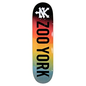 Zoo York Photo Incentive Gradient Fire Skateboard Deck - 8.0