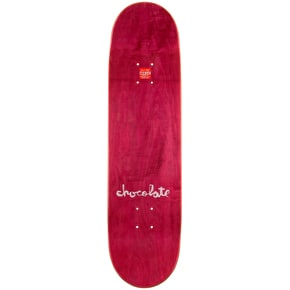 Chocolate League Fade Skateboard Deck - Alvarez 8.25