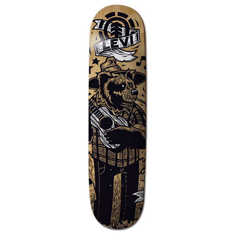 Element Animal Band Skateboard Deck - Levi 8""