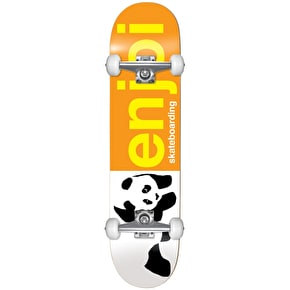 Enjoi Half And Half Complete Skateboard - Orange 8