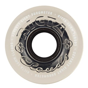 Ricta Crystal Clouds 78a Skateboard Wheels - Clear 56mm