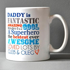 Personalised 'New Parent' Insulated Mug