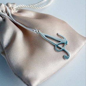 Sterling Silver Initial Necklace