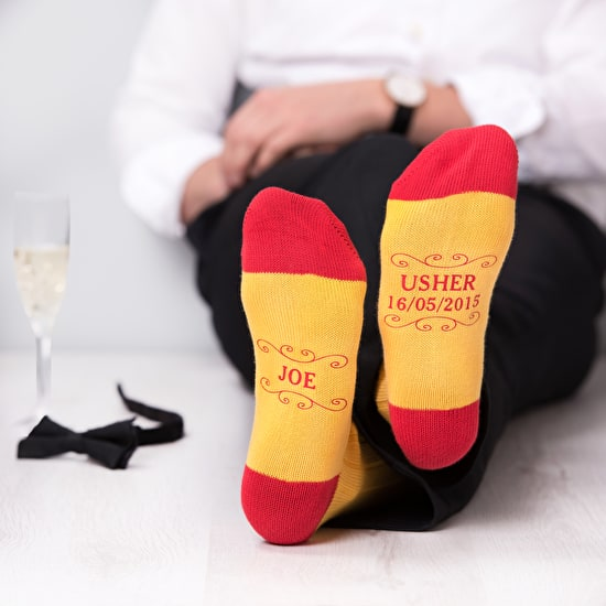 Personalised Wedding Socks