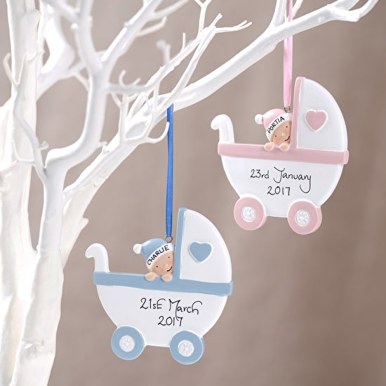 Personalised Christening Decoration