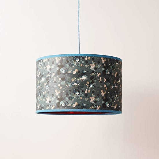 Copper pattern lampshade