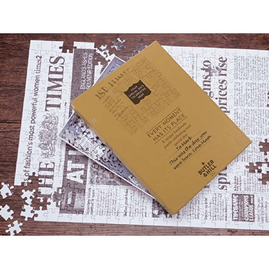 Times Newspaper Front Page Jigsaw Puzzle