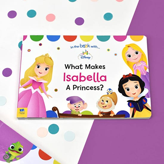 Personalised What Makes Me A Princess Book