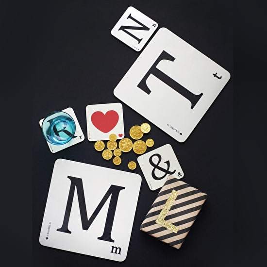 Letter Coasters