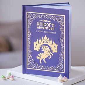 Exclusive Personalised Unicorn Book